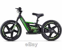 Renegade BB16 24V Lithium Electric Balance Bike Motorbike 16 Wheels Green