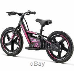 Renegade BB16 24V Lithium Electric Balance Bike Motorbike 16 Wheels Pink