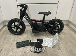Revvi 12 Electric Balance Bike Excellent Condition, Lithium Battery, 2 Speed