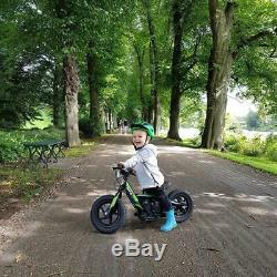 Revvi 12 Lithium-ion 24v Kids Electric Balance Bike MX Motorbike Green