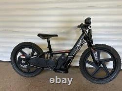 Revvi 16 Electric Balance Bike Black kids bike motorbike motorcycle 24v