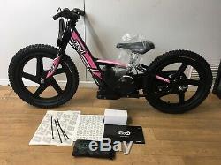 Revvi 16 Kids Electric Balance Bike Brand New 24v 170w Motorbikes Pink