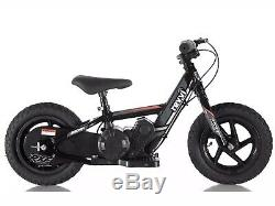 Revvi Electric Childrens Balance Bike 12 Black IN STOCK NOW NEXT DAY DELIVERY