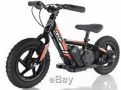Revvi Electric Childrens Balance Bike 12 inch wheels Red August Pre Order