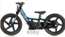 Revvi Electric Childrens Balance Bike Mx / Pit Bike 16 wheels -Blue PRE-ORDER