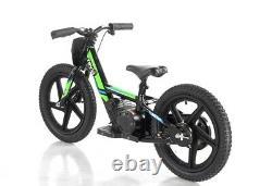 Revvi Electric Childrens Balance Bike Mx / Pit Bike 16 wheels -Green PRE-ORDER