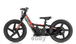 Revvi Electric Childrens Balance Bike Mx / Pit Bike 16 wheels -RED IN STOCK