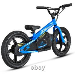 STORM 16 KIDS 170w 24v ELECTRIC BALANCE BIKE BLUE STUNNING NEW 2021 MODEL