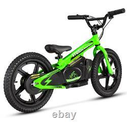 STORM 16 KIDS 170w 24v ELECTRIC BALANCE BIKE GREEN STUNNING NEW 2021 MODEL
