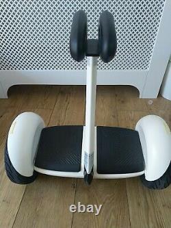 Segway mini Lite Smart Self-Balancing Electric Transporter, White Used