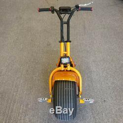 Self Balancing Electric One Wheel Unicycle 1000W Motor Big Tire