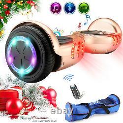 Self Balancing Electric Scooter Bluetooth Balance Board LEDs Kids Christmas Gift