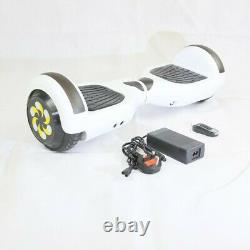 Self Balancing Electric Scooter Bluetooth Balance Board LEDs w Bag Charger