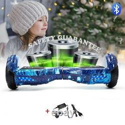Self Balancing Electric Scooter HOVERBOARD LED 6.5 Swegway Galaxy Blue