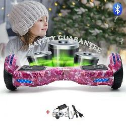 Self Balancing Electric Scooter HOVERBOARD LED 6.5 Swegway Purple Sky