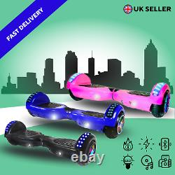 Self Balancing Electric Scooter HOVERBOARD LED/BLUETOOTH/BAG REMOTE KEY 6.5