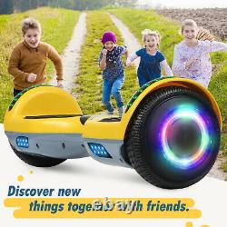Self-Balancing Scooter 6.5 Hoverboard Electric Scooter Bluetooth Balance Board