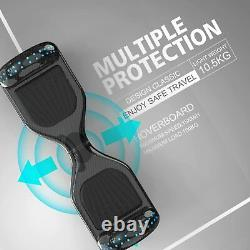 Self Balancing Scooter 6.5 inch Hoverboard Electric Scooter Bluetooth Speaker