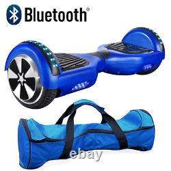Self Balancing Scooter Electric Bluetooth Balance Board With Bag Remote Key Uk