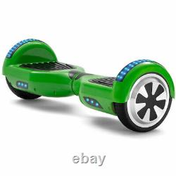 Self-balancing Scooter 6.5 Green Hoverboard Bluetooth Electric Scooters+KEY+Bag