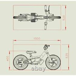 Xmas AMPED A10 Electric 5.2AH BATTERY Powered Kids/Child 3+ Balance/Moto Bikes
