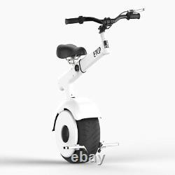YHZ 800with60v Electric One Wheel Self Balance Motorcycle Vehicle unicycle